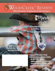 Woodcreek March 2020