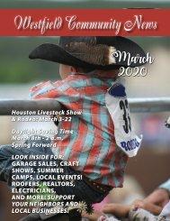 Westfield Community March 2020