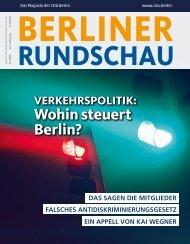 Berliner Rundschau digital I Ausgabe 2/2020