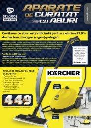 Catalog aparate de curățat cu aburi (promovare exclusiv online)