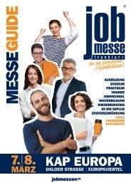 Der MesseGuide zur 6. jobmesse frankfurt