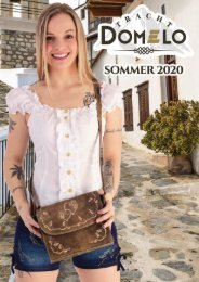 Domelo Tracht Sommer 2020 Katalog