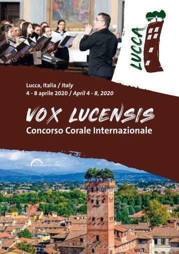 Lucca 2020 - Program Book