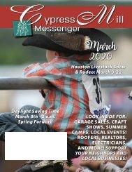 Cypress Mill March 2020