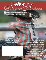 Sydney Harbour March 2020