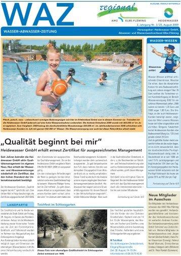 2. Änderungssatzung - Heidewasser GmbH
