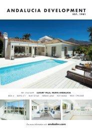 Andalucia Development Spring 2020