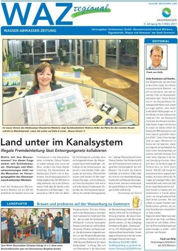 Ausgabe 01 - 2011 - JL - Heidewasser GmbH