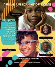 February 23, 2020 Transfiguration Sunday