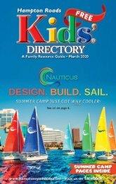 Hampton Roads Kids' Directory: March Issue