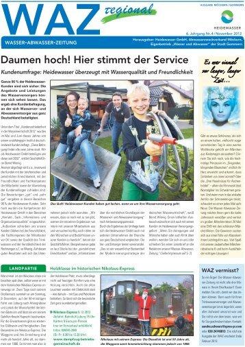Ausgabe Möckern/Gommern - Heidewasser GmbH