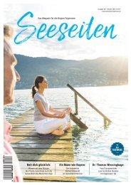 Seeseiten – das Magazin für die Region Tegernsee, Nr. 60, Ausgabe Frühling 2020