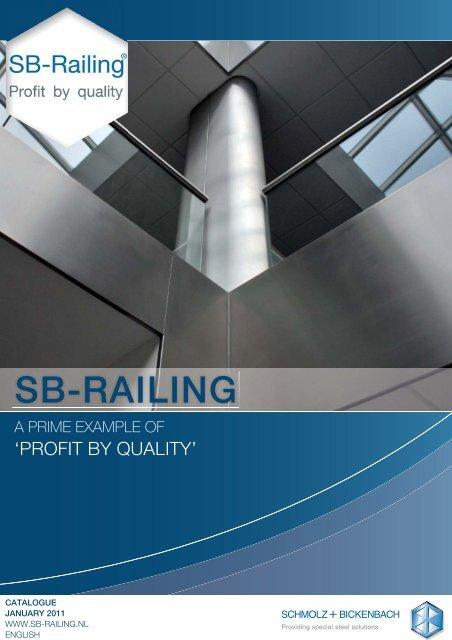 SB-Railing Catalogus