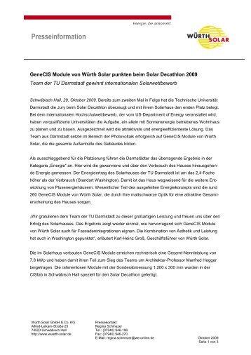 Presseinformation - Wirtschaftsregion Heilbronn - Franken
