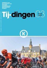 Infoblad Tij-dingen, editie maart 2020