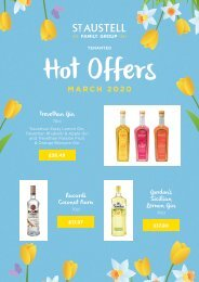 Tenanted Special Offers Brochure and Hot Offers - March 2020