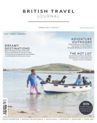 British Travel Journal | Spring 20