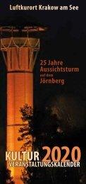 Veranstaltungskalender 2020 - Krakow am See
