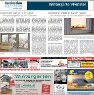 Faszination Eigenheim: Wintergarten/Fenster