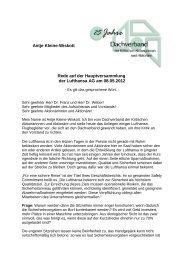 Rede Antje Kleine-Wiskott - Kritische Aktionäre