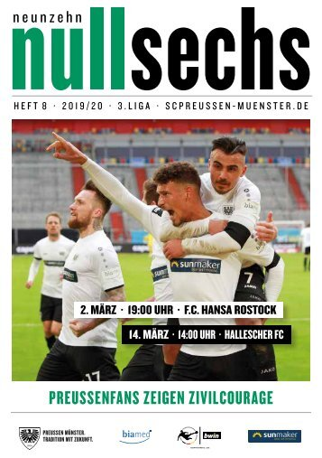 nullsechs Stadionmagazin - Heft 8 2019/20