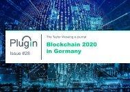Plugin Issue #28_Blockchain 2020 in Germany