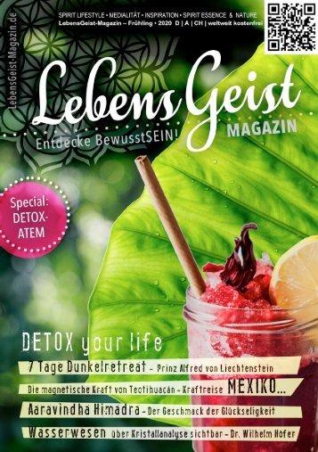 Lebensgeist-Magazin – Frühjahr / Sommer 2020