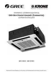 GKH-BA-K Kassettengerät (Euroraster) - KRONE Kälte & Klima GmbH