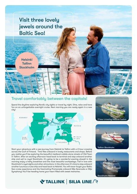 Three Baltic Capitals Roundtrip Cruise