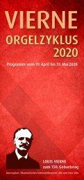 Vierne-Orgelzyklus 2020 Ulm / Neu-Ulm