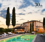Tuscany Now & More Brochure for 2020