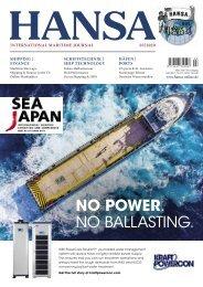 Hansa – International Maritime Journal, Vorschau März 2020