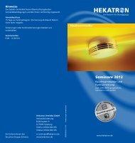 Seminare 2012 - Hekatron