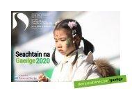 Seachtain na Gaeilge 2020 - UPDATED