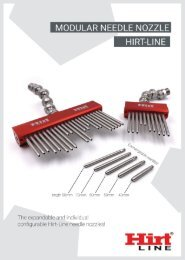 Hirt-Line Modular Needle Nozzle