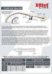 Hirt-Line Cold-air Nozzle