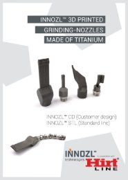 INNOZL™ 3D-Nozzles