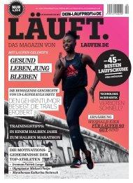 LÄUFT. Frühjahr 2020 – Leseprobe