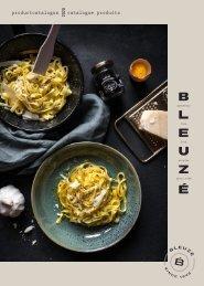 Fine food product catalogus Bleuzé 2020-2021