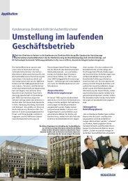 Nach der Direktion in Aachen ist die Kundenservice ... - Hekatron