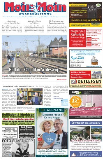MoinMoin Schleswig 10 2020