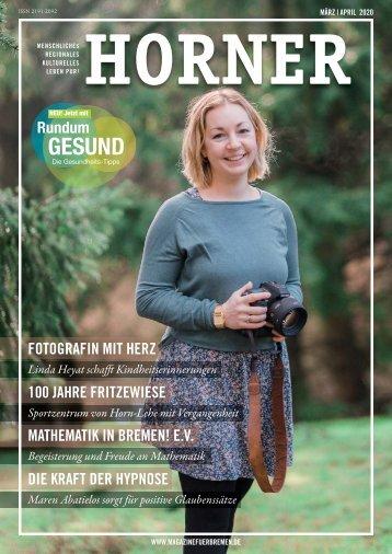 HORNER Magazin | März-April 2020