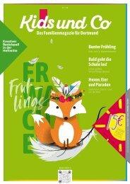 Kids und Co Dortmund, Ausgabe Frühjahr 2020