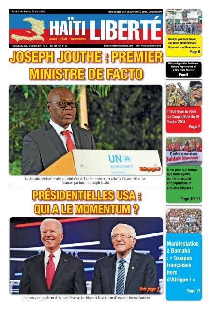 Haiti Liberte 4 Mars 2020