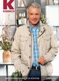 Kimmich Mode-Versand   Größenspezialist für Männermode   Frühjahr 2020