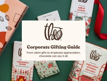 Theo Chocolate Corporate Gifting Guide 2021