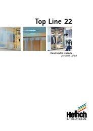 Kování pro posuvné dveře Top Line  22 Montáž - Hettich