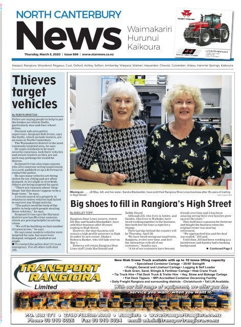 North Canterbury News: March 05, 2020