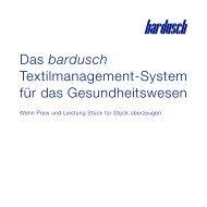 bardusch Textilmanagement-System für das Gesundheitswesen
