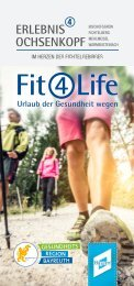 Fit4Life 2020 - Urlaub der Gesundheit wegen